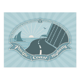 PCH Winding Shining Postcard