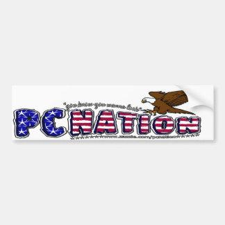PCNATION Brand Bumper Sticker