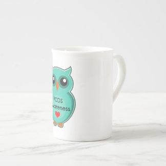 PCOS Awareness Owl Mug
