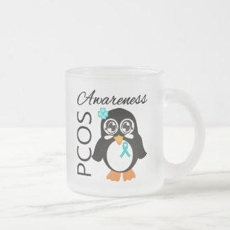 PCOS Awareness Penguin Mugs