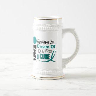 PCOS Believe Dream Hope Beer Steins