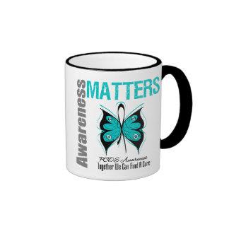 PCOS Cancer Awareness Matters Ringer Mug