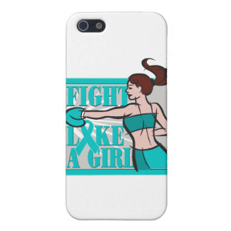 PCOS Fight Like A Girl Boxer iPhone 5 Case