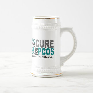PCOS Find The Cure Beer Steins