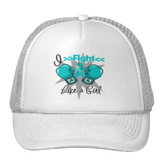 PCOS I Fight Like a Girl With Gloves Hats