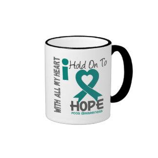 PCOS I Hold On To Hope Mugs