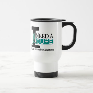 PCOS I Need A Cure 1 Stainless Steel Travel Mug