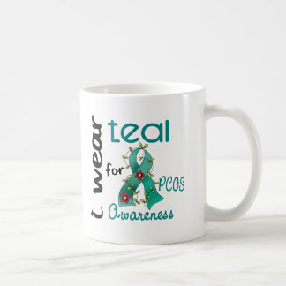 PCOS I Wear Teal For Awareness 43 Coffee Mugs