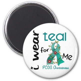PCOS I Wear Teal For ME 43 Magnet
