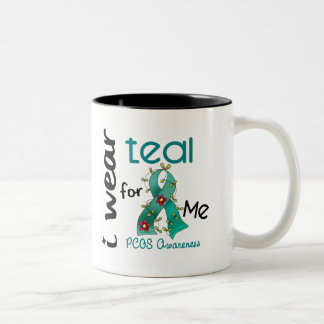 PCOS I Wear Teal For ME 43 Mugs