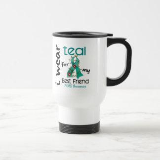 PCOS I Wear Teal For My Best Friend 43 Mug