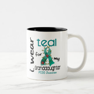 PCOS I Wear Teal For My Granddaughter 43 Coffee Mug