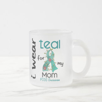 PCOS I Wear Teal For My Mom 43 Mugs