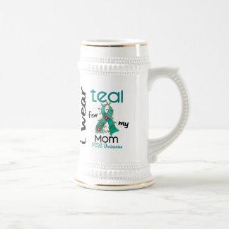 PCOS I Wear Teal For My Mom 43 Coffee Mug