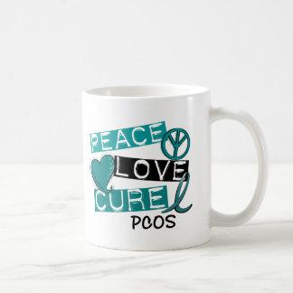 PCOS Peace Love Cure 1 Mug