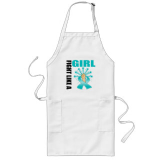 PCOS Victory Fight Like A Girl Long Apron