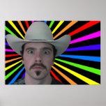 PCowboy Rainbow Poster
