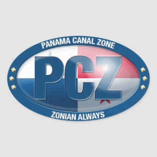 PCZ – Panama Canal Zone: Zonian Always, Sticker