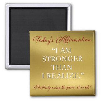 PD Affirmation Magnet Strength #2