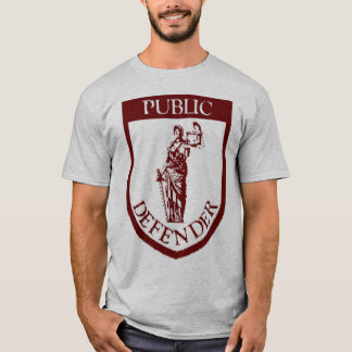 PD T-shirt - Dark Red on Grey