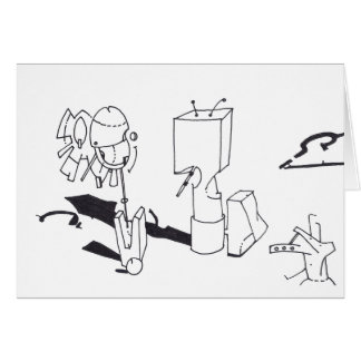 PDD Small Weak Drawings Indefinable Things card