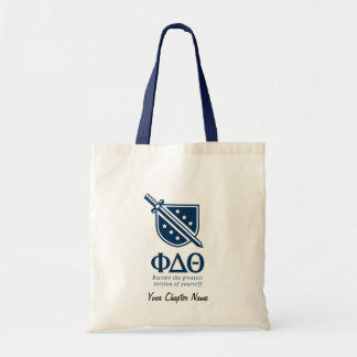PDT - Stacked Become the Greatest Blue 2 2 Budget Tote Bag