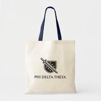 PDT Stacked Logo - Black Canvas Bag