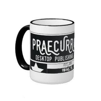 PDTP - Texas Bean Badge Ringer Mug