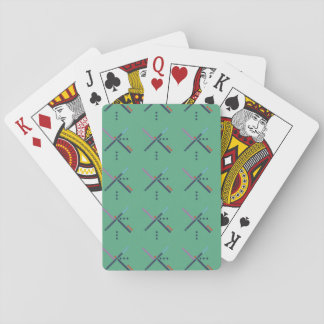PDX Airport Carpet Playing Cards