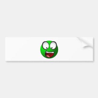 Pea Ball Bumper Sticker