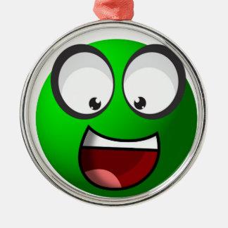 Pea Ball Silver-Colored Round Decoration