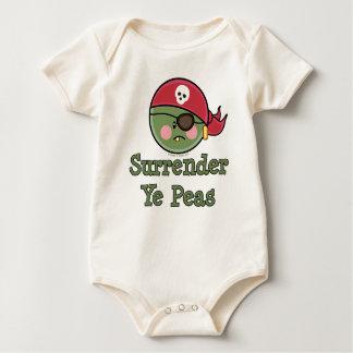 Pea Pirate Baby Organic Baby Bodysuit
