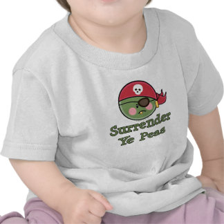 Pea Pirate Baby Toddler T shirt