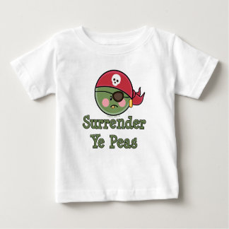 Pea Pirate Baby Toddler T shirt