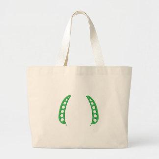 Pea Pod Frame Tote Bag