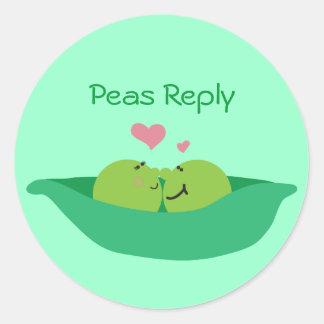 Pea Pod Sweethearts Sticker