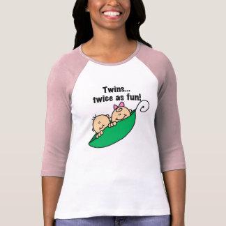 Pea Pod Twins Twice as Fun T-Shirt