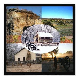 Pea Ridge National Military Park 13 Cm X 13 Cm Square Invitation Card