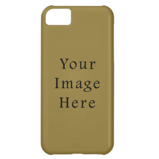 Pea Soup Green Color Trend Blank Template Cover For iPhone 5C