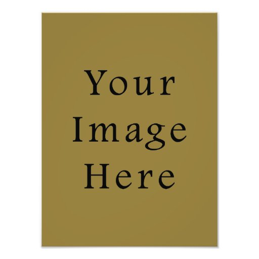 Pea Soup Green Color Trend Blank Template Photographic Print