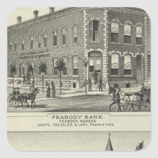 Peabody Bank, Kansas Square Sticker