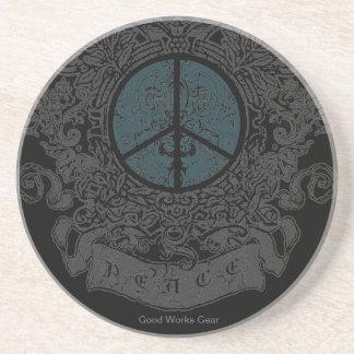 Peace 01 Coaster DARK