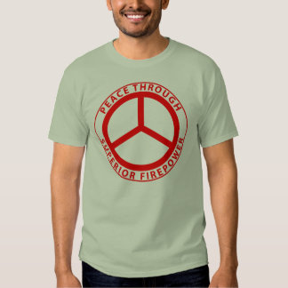 peace 2010 Red Tshirts