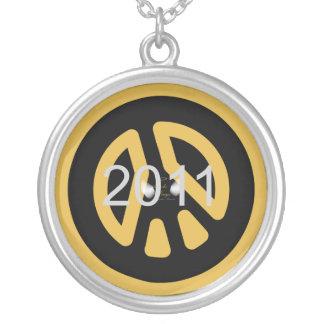 Peace 2011 Awareness Necklace Charm-Customize
