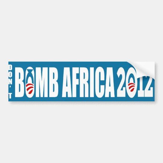 Peace 2012 bumper sticker