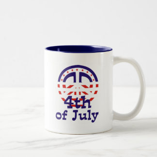 Peace 4th of July T-shirts and gifts Coffee Mugs