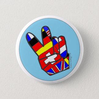 Peace! 6 Cm Round Badge