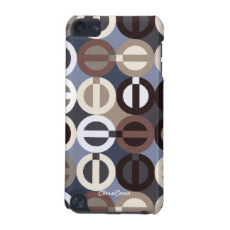 Peace-A-GoGo Blue Brown iPod Touch Speck Case iPod Touch 5G Cover