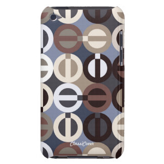 Peace-A-GoGo Blue Brown Touch  iPod Touch Cover