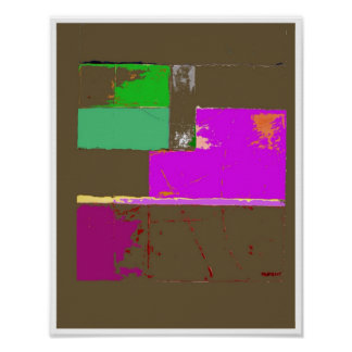 Peace Abstract Art poster